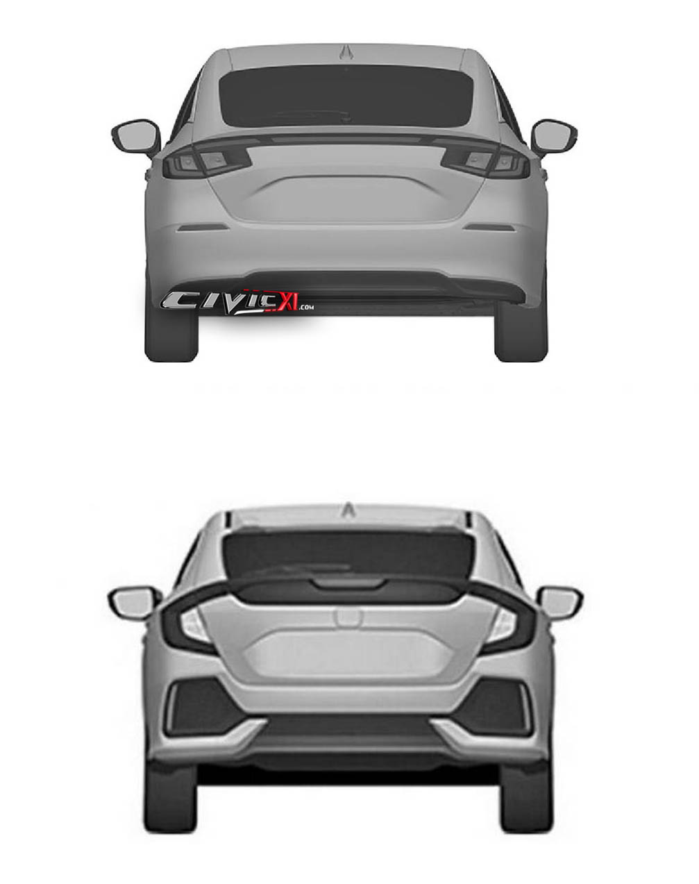 Next-Gen Honda Civic Hatchback Design Leaked In Trademark Filing 10