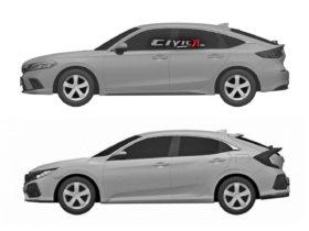 Next-Gen Honda Civic Hatchback Design Leaked In Trademark Filing 9