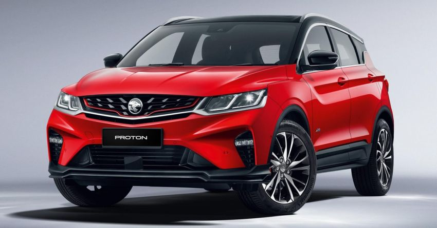 Proton Officially Reveals the X50 Crossover SUV 4