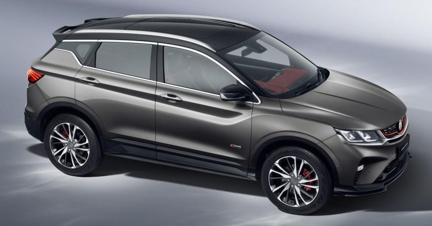 Proton Officially Reveals the X50 Crossover SUV 2