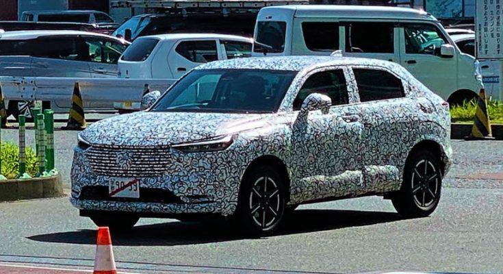 Next Generation Honda HR-V/ Vezel Spotted Testing in Japan 1