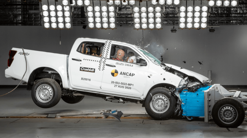 New Isuzu D-Max Gets 5 Stars in ANCAP Crash Tests 1