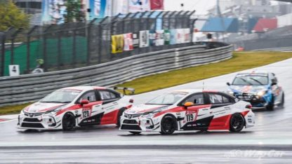Toyota Corolla Altis Wins Nürburgring 24H's SP3 Class 8
