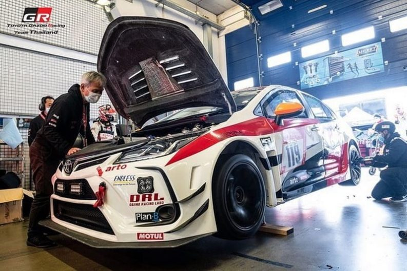 Toyota Corolla Altis Wins Nürburgring 24H's SP3 Class 2