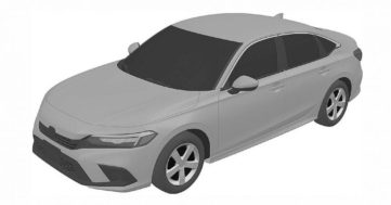 Next-Gen Honda Civic Sedan Leaked In Patent Images 2