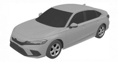 Next-Gen Honda Civic Sedan Leaked In Patent Images 1