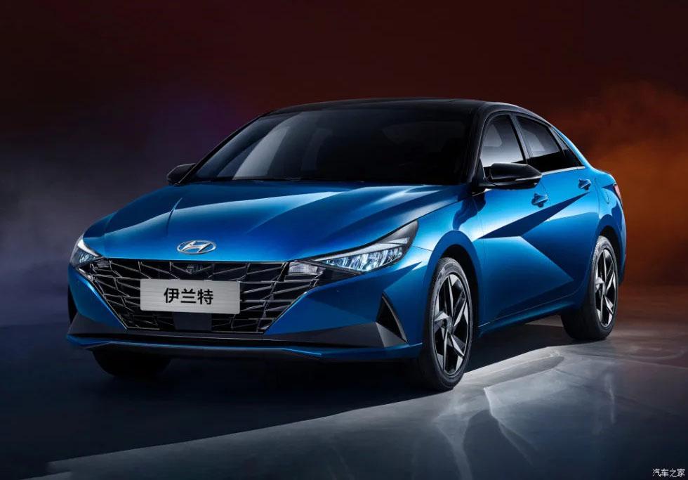 2021 Hyundai Elantra for Chinese Market Revealed 2