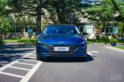 2021 Hyundai Elantra for Chinese Market Revealed 9