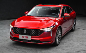 First Official Photos: 2021 FAW Bestune B70 Sedan 2