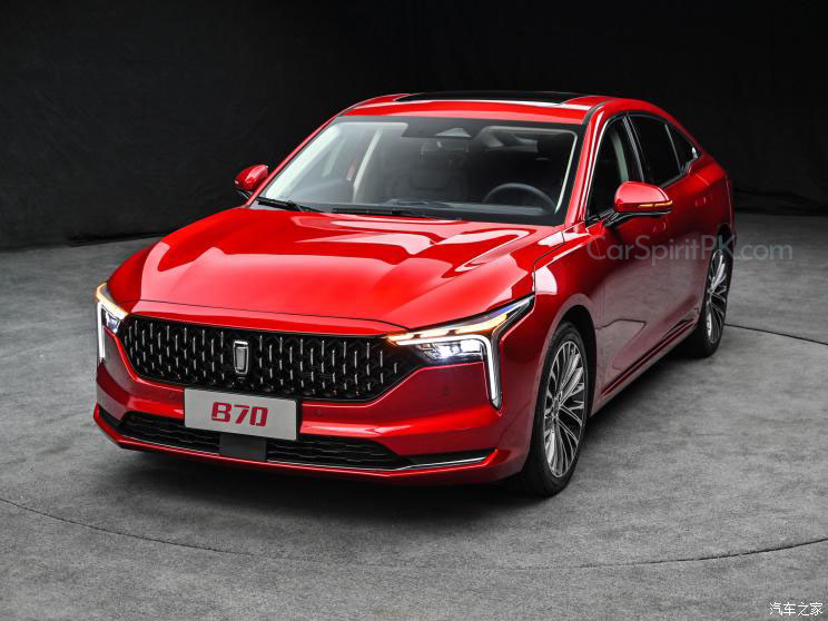 First Official Photos: 2021 FAW Bestune B70 Sedan 1