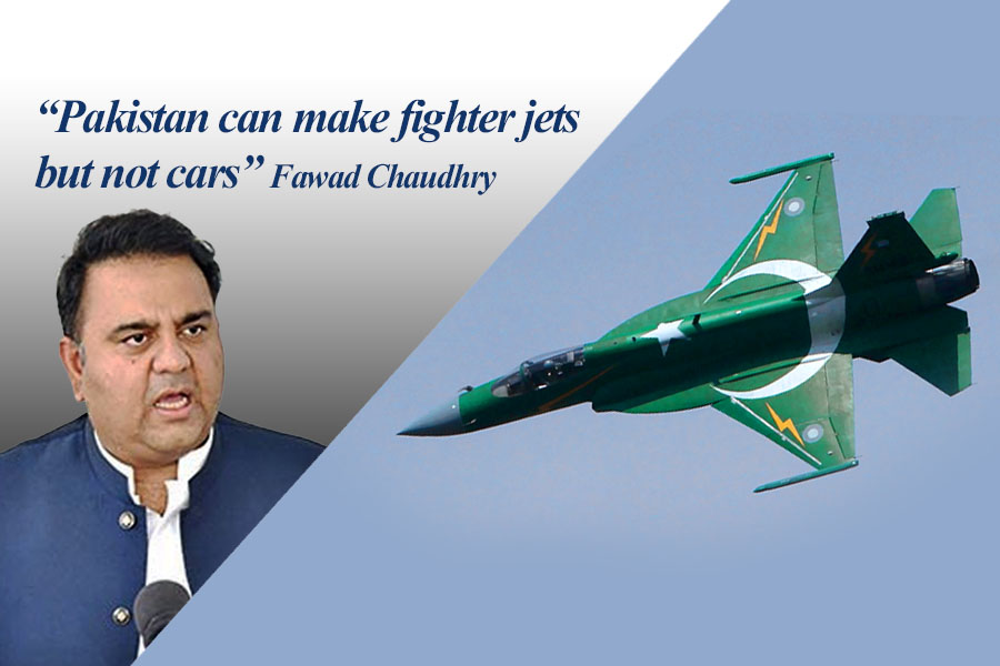 Pakistan Can Make Fighter Jets but Not Cars: Fawad Chaudhry 9