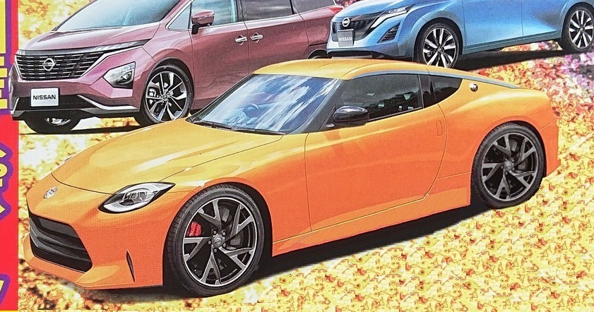 The Upcoming Nissan 400Z Will Have Retro-Inspired Styling 3