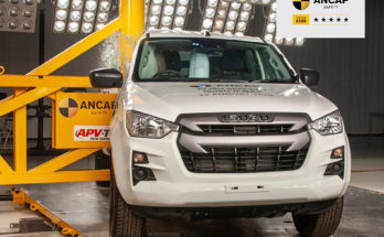 New Isuzu D-Max Gets 5 Stars in ANCAP Crash Tests 3