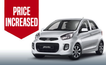 Kia Picanto Price Increased 6