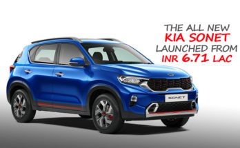 All New Kia Sonet Launched in India from INR 6.71 Lac 12
