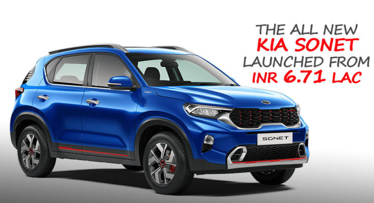 All New Kia Sonet Launched in India from INR 6.71 Lac 1