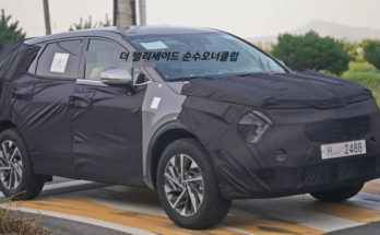 Next Generation Kia Sportage Spied 7