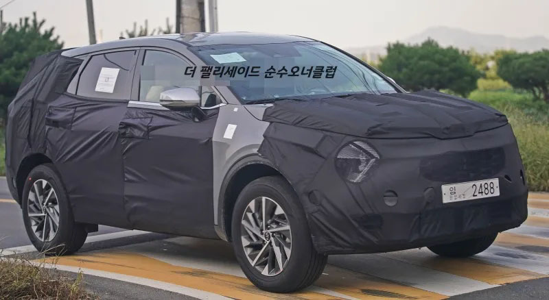 Next Generation Kia Sportage Spied 3