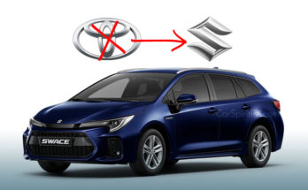 Corolla Estate-Based Suzuki Swace Debuts 5