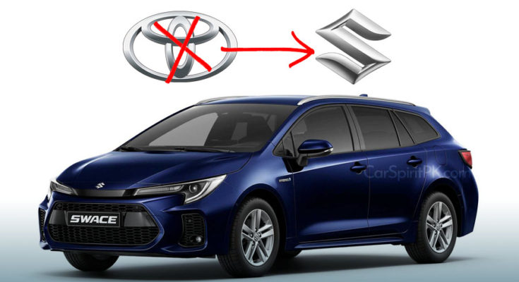 Corolla Estate-Based Suzuki Swace Debuts 1