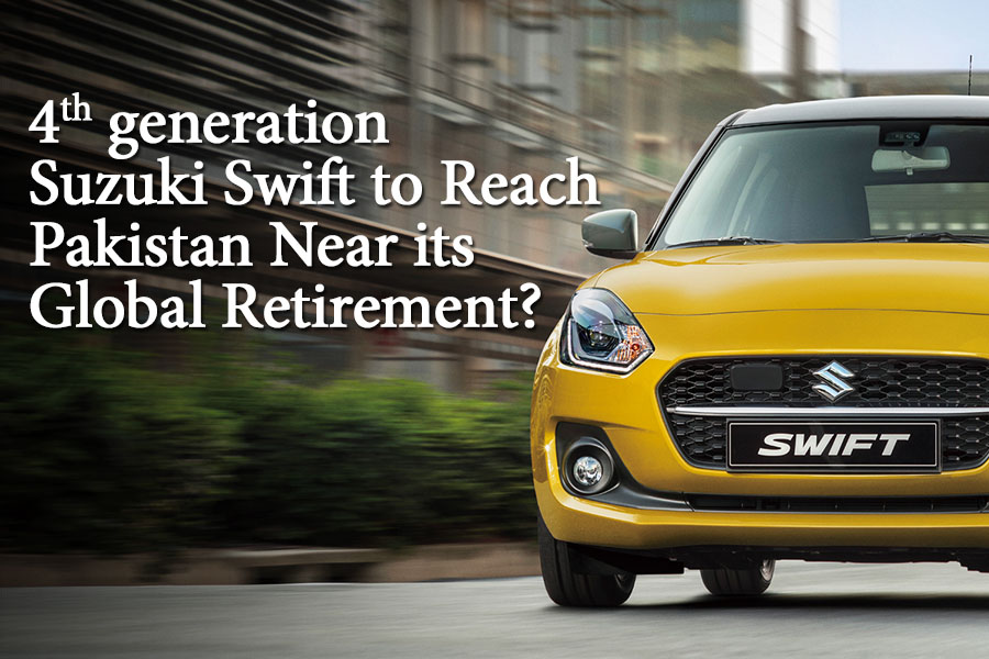 4th Gen Swift to Reach Pakistan Near its Global Retirement? 4