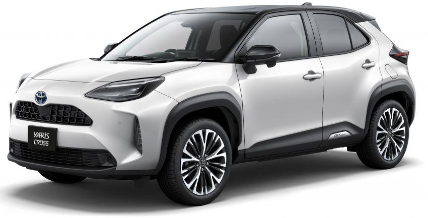Toyota Yaris Cross Goes on Sale in Japan 2