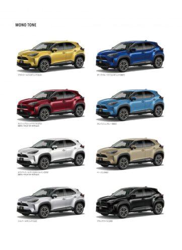 Toyota Yaris Cross Goes on Sale in Japan 8