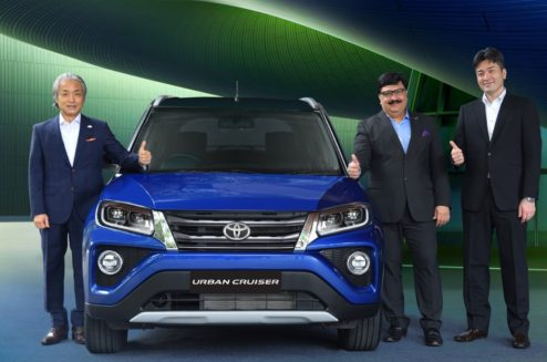 Toyota Urban Cruiser Launched in India from INR 8.4 Lac 2