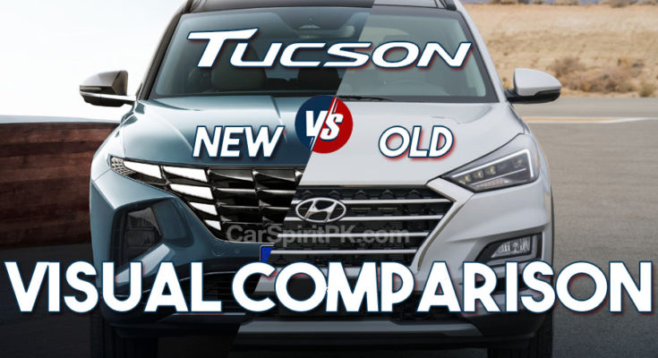 Hyundai Tucson- New vs Old 1