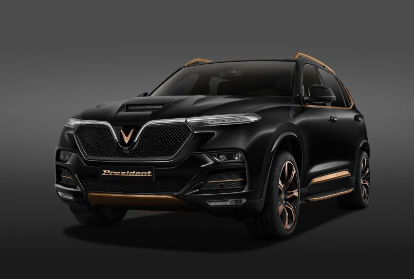 The Flagship VinFast President SUV Launched 1
