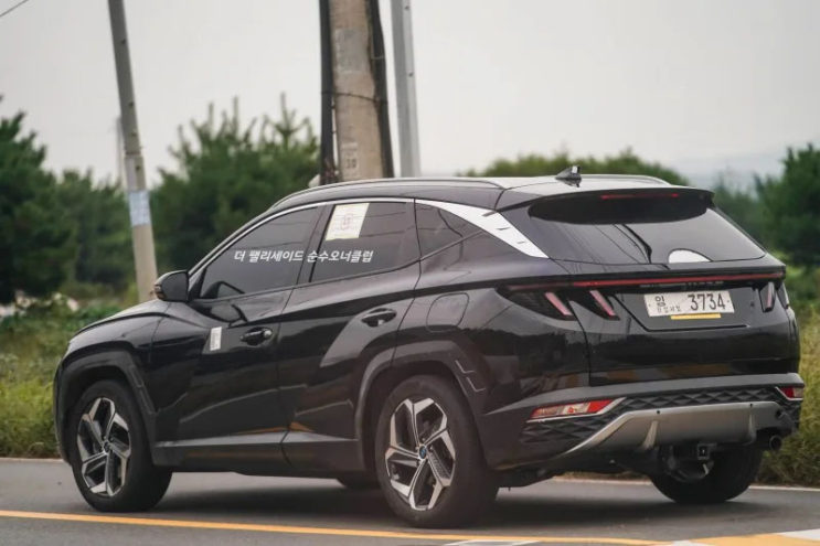 Real World Pictures of the All New Hyundai Tucson 7