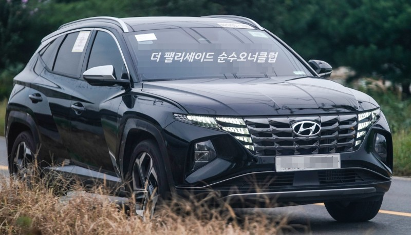 Real World Pictures of the All New Hyundai Tucson 1