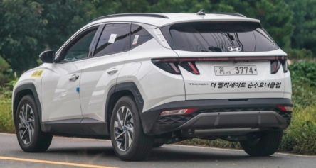 Real World Pictures of the All New Hyundai Tucson 5