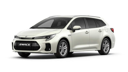 Corolla Estate-Based Suzuki Swace Debuts 2