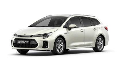 Corolla Estate-Based Suzuki Swace Debuts 1