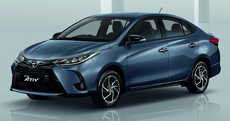 Peeping Into the New Thai-Spec Toyota Yaris Ativ Facelift 1