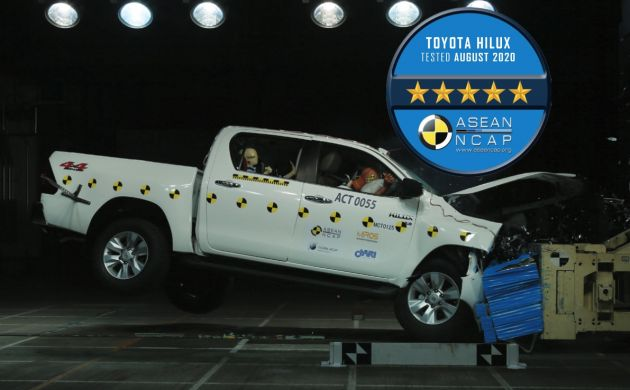 2020 Toyota Hilux Facelift & Fortuner Gets 5-Star ASEAN NCAP Rating 1