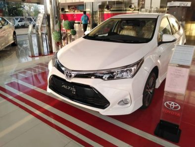 2021 Toyota Corolla with Refreshed Styling 2