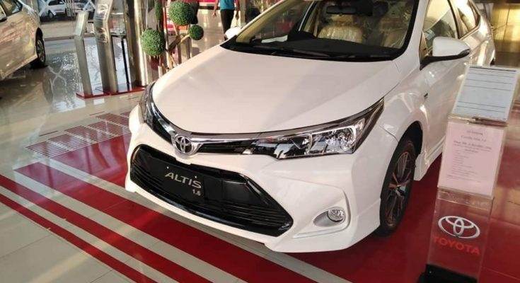 2021 Toyota Corolla with Refreshed Styling 1