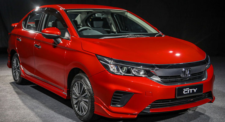 All New Honda City Sedan Launched in Malaysia 1