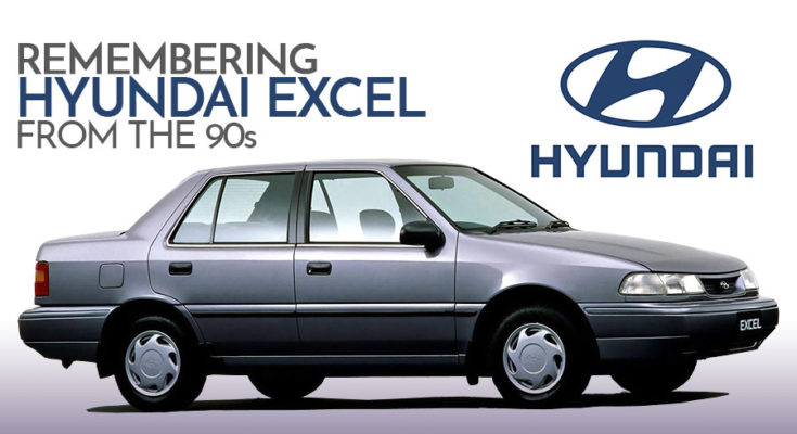 Remembering Hyundai Excel from the 90s 1