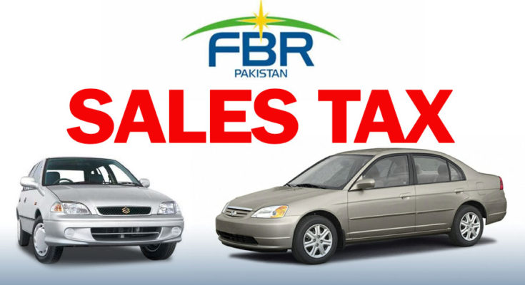 FBR to Impose Sales Tax on Used Cars 1