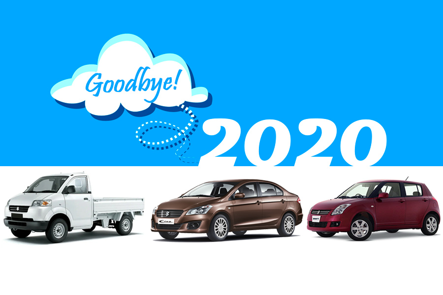 2020 Saw Discontinuation of 3 Suzuki Cars in Pakistan 2