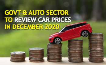 Govt & Auto Sector to Review Car Prices in December 2020 19