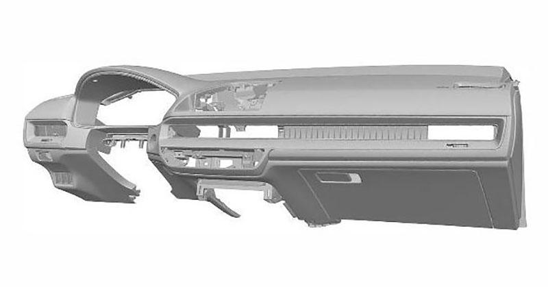 Next Gen Honda Civic Interior Patent Images Leaked 5