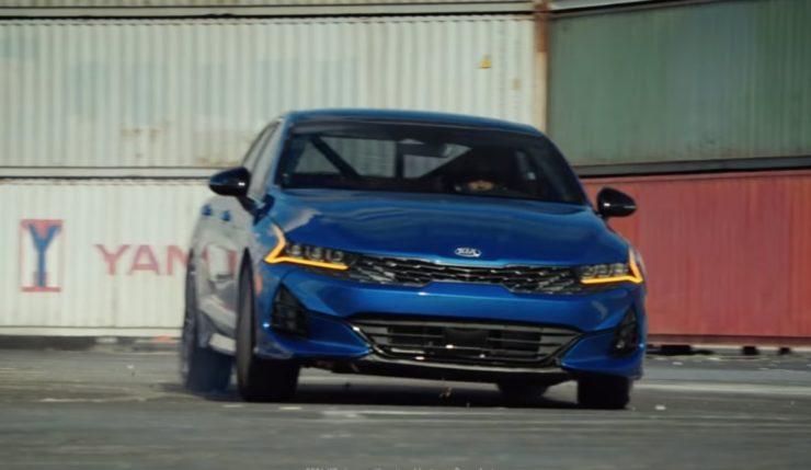 All New Kia K5 Performs Amazing Stunt in Latest TVC 2