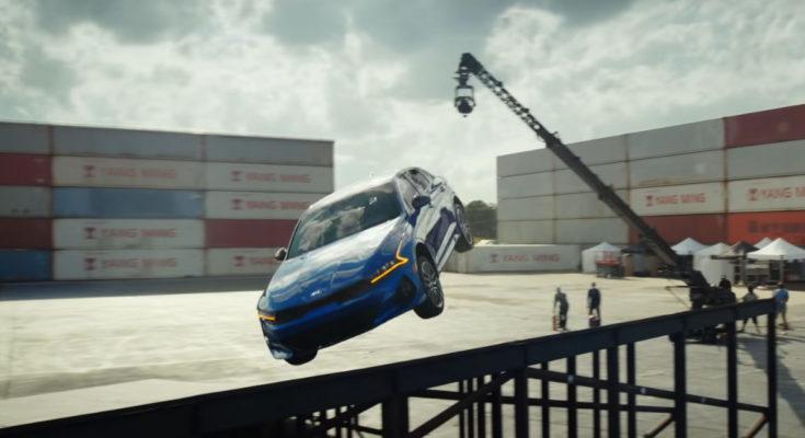 All New Kia K5 Performs Amazing Stunt in Latest TVC 1