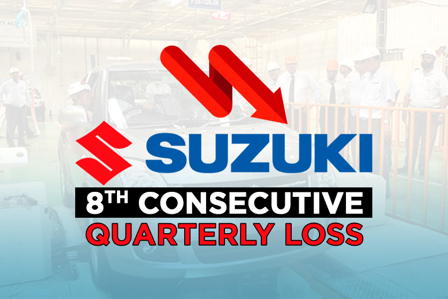 Pak Suzuki Reports 8th Consecutive Quarterly Loss 1