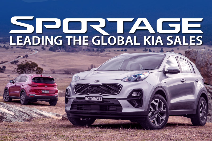 Sportage Leading the Global Kia Sales 2