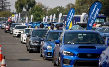 Subaru Broke the Guinness World Record for Largest Parade of Cars 5